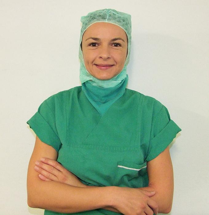 Christine Mühlbauer - OP-Fachkraft für OP-Vent